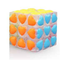 Magic Cubes Stress Reliever Spinner Hand Antistress Puzzles Brinquedo Heart Love Toys Educationa Mini Fidget Cubes
