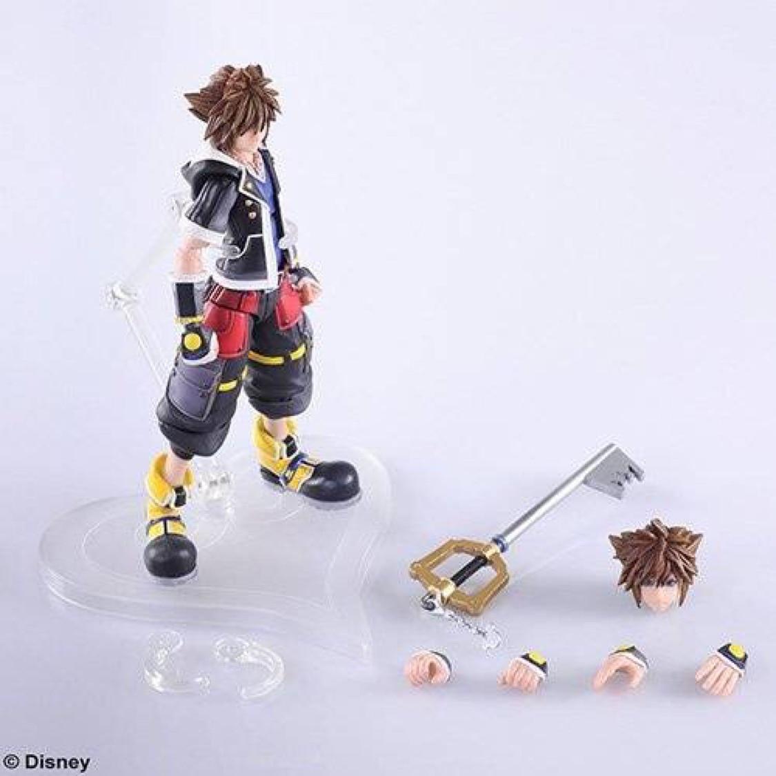 Oryginalny pcv rysunek Sora2 królestwo serca Model 13 cm w Figurki i postaci od Zabawki i hobby na  Grupa 1