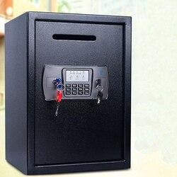 صندوق السلامة مكافحة سرقة الإلكترونية تخزين البنك الأمن المال والمجوهرات تخزين جمع المنزل مكتب الأمن صندوق تخزين DHZ033