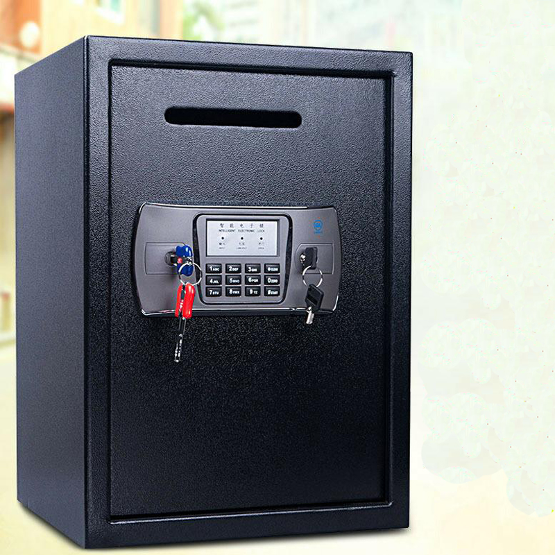 Safety Box Anti-theft Electronic Storage Bank Security Money Jewelry Storage Collection Home Office Security Storage Box DHZ033
