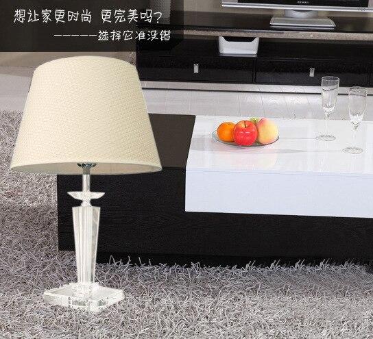 Туда 23X53 см Бесплатная доставка Современный Творческий K9 Кристалл Настольная лампа для Гостиная исследования настольная лампа дома моды де...
