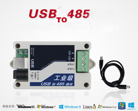 Free Shipping 1pc Upgraded version Industrial use USB to RS485 Module lightning protection protocol converter module