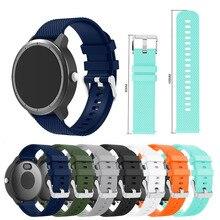 For Garmin 245 Strap Silicone Watch Band Sports Forerunner 245M/645/245 Vivoactive3/Vivomove HR Bracelet