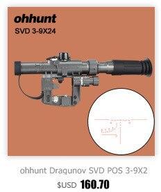 Montagem Encaixa para AK AKM SLR Saiga Rifle
