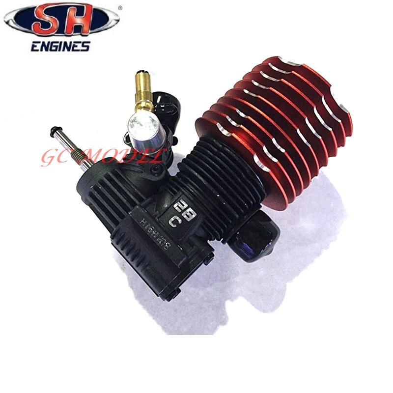 RC Car Buggy Monster Truggy Nitro Engine Taiwan Imports SH 28XM Engine M28 P8 4 57CC