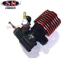 Радиоуправляемый автомобиль багги Монстр Truggy Nitro двигатель Тайвань импортирует SH-28XM двигатель M28-P8 4.57CC Потяните Стартер
