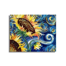Sunflowers by Van Gogh Wall Pictures Art Poster Print Canvas Painting Calligraphy Decorative for Living Room Home Decor lonex 2 в 1 cosmo светло синяя