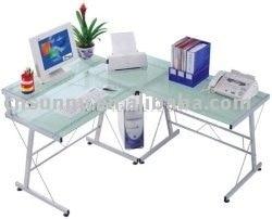 Beau Free Shipping Meritline Modern Ergonomic Corner Computer Desk MLK006 (Glass  Corner Computer Desks) Wholesaleu0026retail