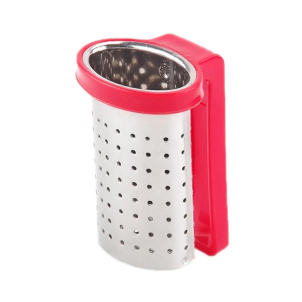 New Tea Tools Stainless Steel Tea Strainer Candy Color Tea Strainer Tea Leaf Spice Filter Drinkware Kitchen Accessories
