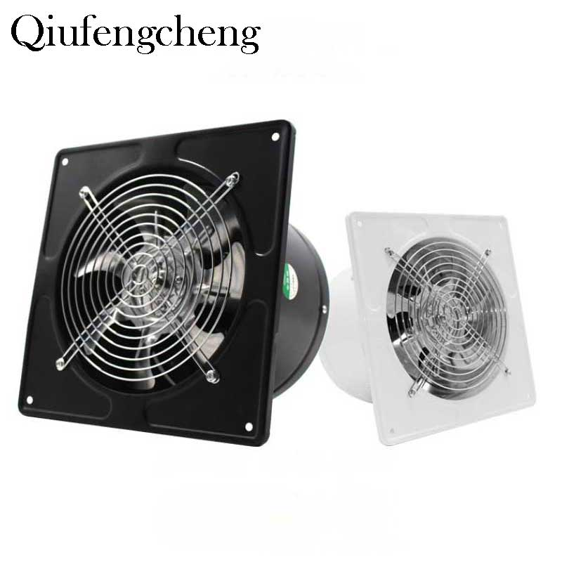 7.48inch Ventilator Extractor Wall Mounted 220V Exhaust Fan 45WLow Noise Home Bathroom Kitchen Garage Air Vent Ventilation