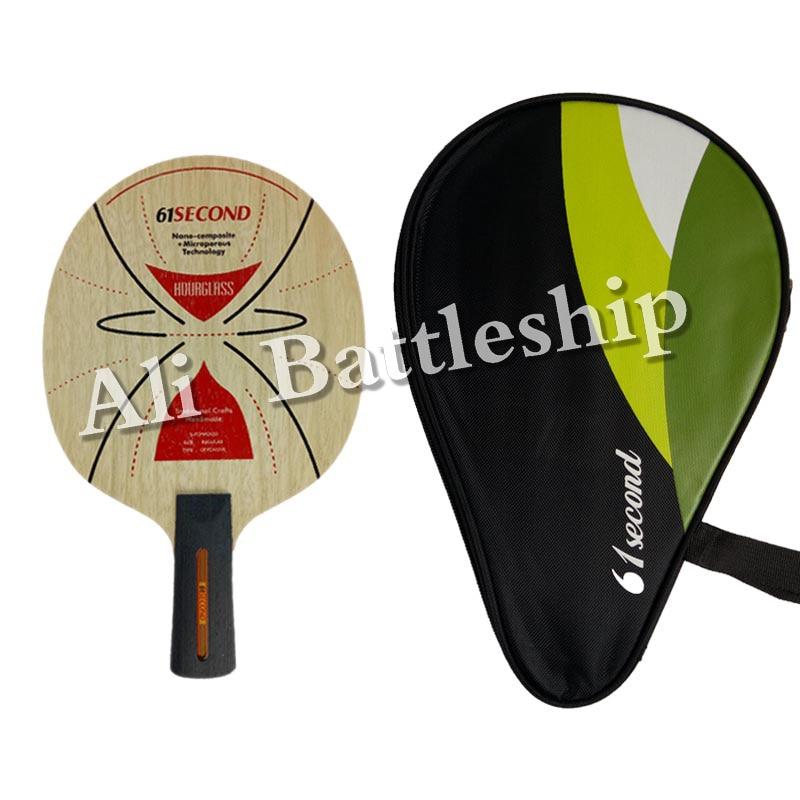 Original 61segun HOURGLASS Table Tennis Blade para tenis de mesa Bat - Raquetas de deportes