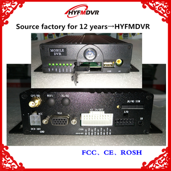 4 channel full HD VCR AHD1080P 2 million pixel support NTSC/PAL taxi/truck general MDVR