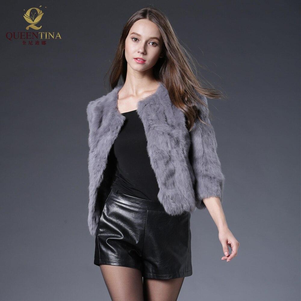 48589eb6d8de ... Hot Women Real Rabbit Fur Coat Natural Rex Rabbit Fur Coat O-Neck  Fashion Slim Thin Rabbit Fur Coat Full Pelt Genuine Fur Jacket. 58% Off. 🔍  Previous