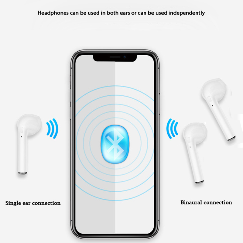 Bluetooth Headset With Mic Wireless Headphone Earphone For iPhone Air Pods Xiaomi Huawei Sony All Smart Phones With Charging Box (21)
