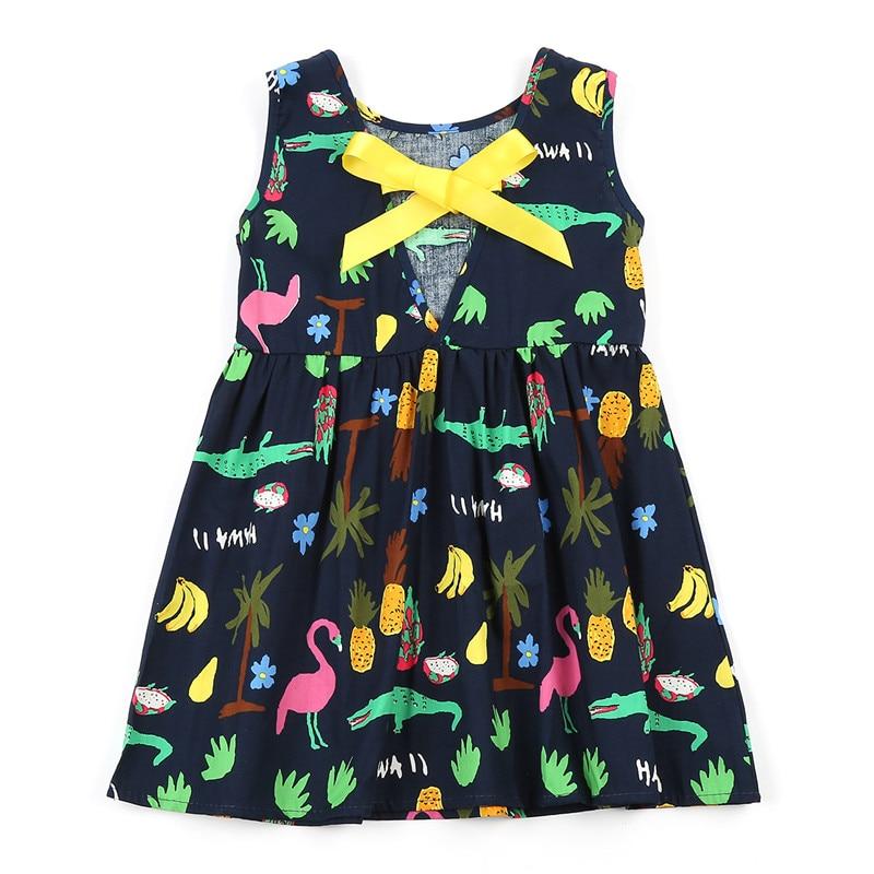 6940569c2 Summer Girl Dress Kids Children Dress Girls Sleeveless Plaid Dress Soft  Cotton Summer Princess Dresses Baby Girls Clothes-in Dresses from Mother &  Kids on ...