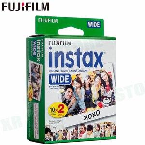 Image 2 - 20 filmler Fujifilm Instax Geniş Anında Beyaz Kenar Fuji Kamera 100 200 210 300 500AF Lomography fotoğraf