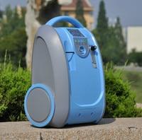 portable 5LPM 93% ozone generator with ionizer function fresh room
