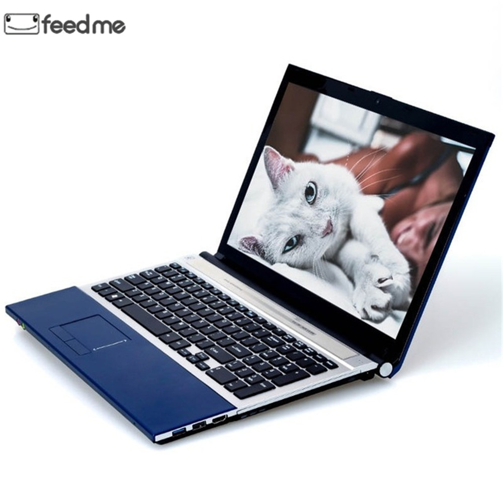 15.6 Inch with DVD Driver Laptops Intel Core i7 8GB RAM 1TB HDD  Notebook IPS 1080P Windows 10 Gaming Laptop Support WiFi BT