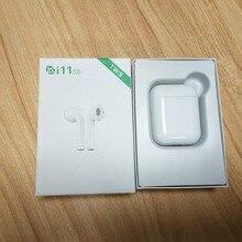 מקורי i11 tws תאומים אלחוטי אוזניות מיני Bluetooth V5.0 סטריאו אוזניות אוזניות עבור כל סוגים של טלפון חכם