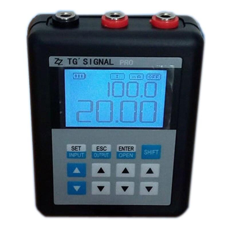 Original TG Signal Pro 24V 4 20mA 0 10V Signal Generator Analog Current Voltage Signal Tester