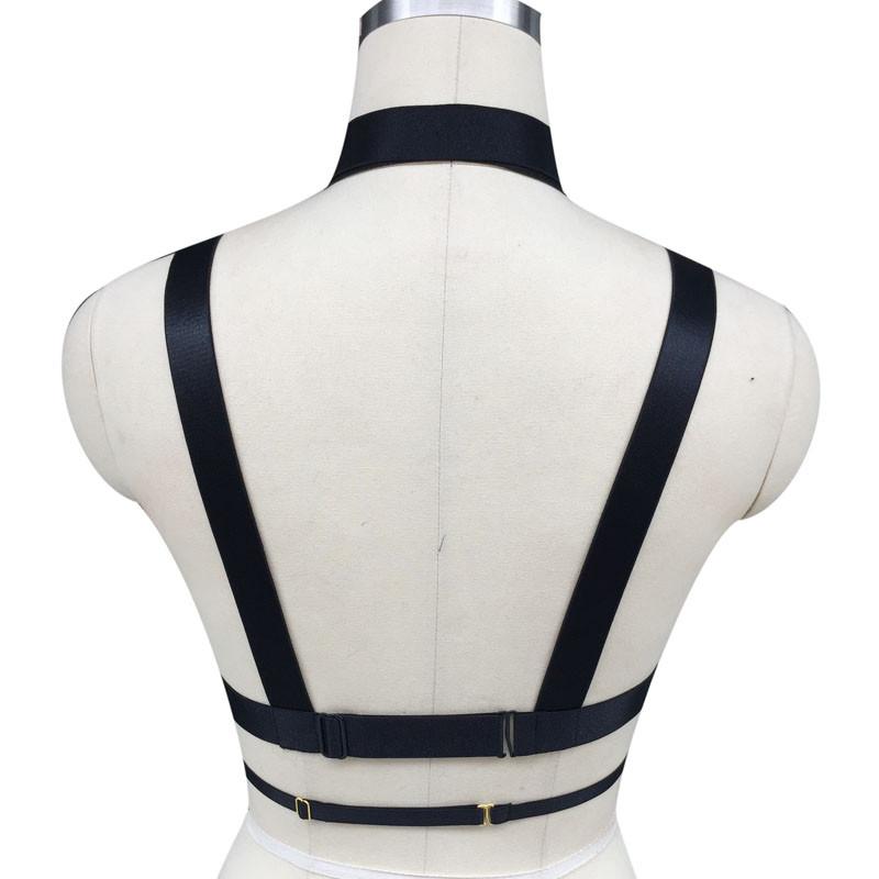 HTB1tmwVJpXXXXXGXFXXq6xXFXXXk Hot Women Spandex Adjustable Bondage Cage Bra Harness For Women