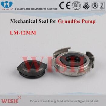 12MM Grundfos type LM mechanical seal