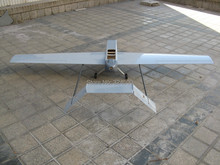 Control remoto Eléctrico Desarrollado Descuento UAV Hugin II 2.6 m plataforma Modle Airplane ARF FPV Combo Kit Modelo de Avión de Radio RC planeador
