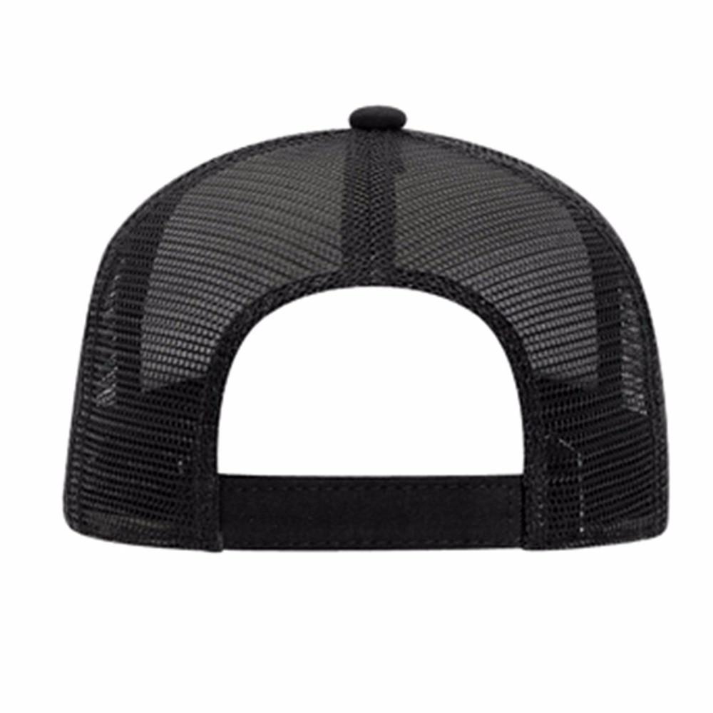black trucker hat 14