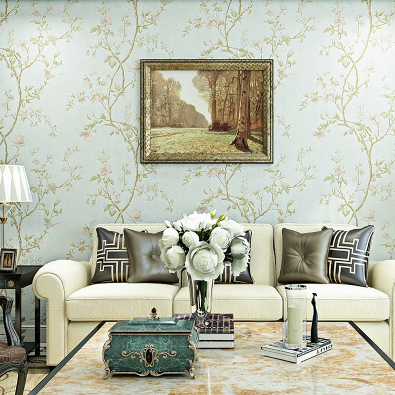 Free Shipping Custom Chinese flowers birds wallpaper 3D Non-Woven wallpaper bedroom living room background wallpaper free shipping hepburn classic black and white photographs women s clothing store cafe background mural non woven wallpaper