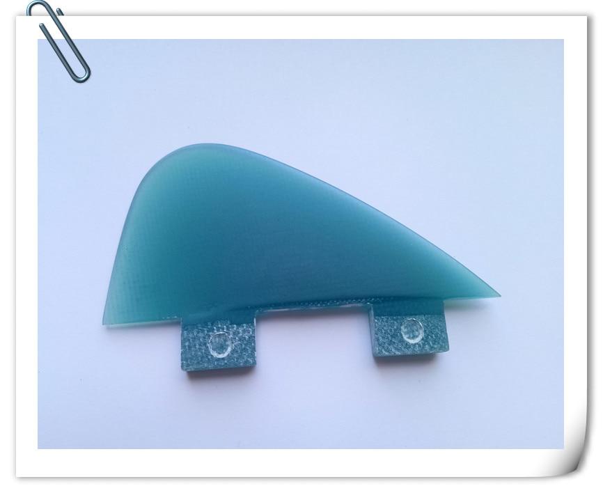✅Tabla de surf de fibra de vidrio fin con color azul transparente ...