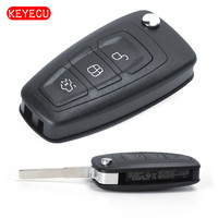 Keyecu Folding Remote Key 434MHz ID83 Chip For Ford Focus C Max Mondeo Grand C Max