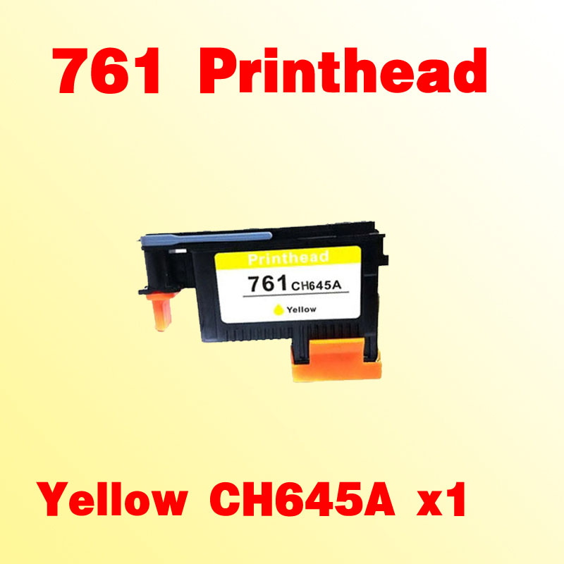1PCS For hp761 Yellow prinhead  for hp 761 CH645A T7100 T7200 for hp761 magenta cyan prinhead for hp 761 t7100 t7200 ch646a