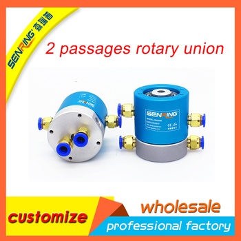 Rotary joint SNQ series 2 channels 3002006 hydraulic-Electrical slip ring