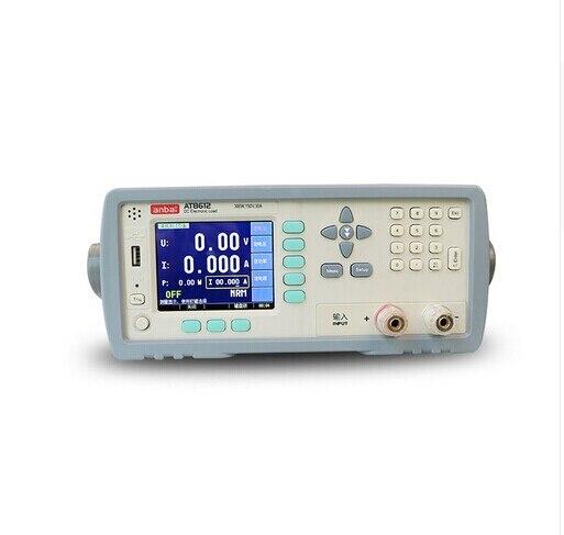 Haute qualité AT8612 Programmable DC charge électronique 300 W 150 V 30A 3.5 ''TFT LCD RS232 DHL EMS UPS livraison rapide gratuite
