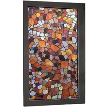 Colored stone Static Window Privacy Film Glass Sticker Decorative films for furniture Stained bathroom Home Decor Films