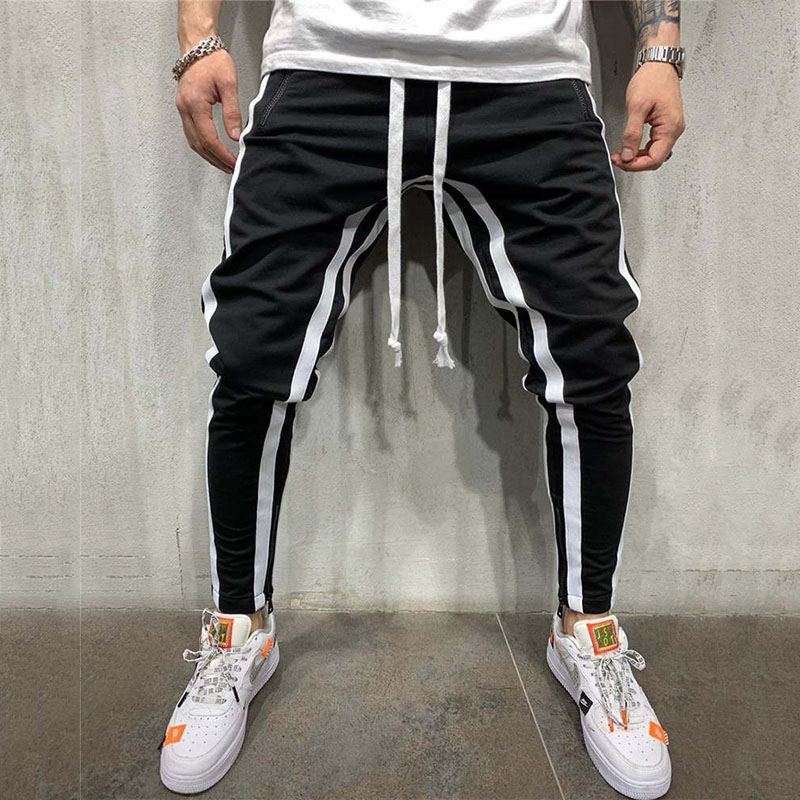 2019 New Pants Running Tights Men Sporting Leggings Workout Sweatpants Joggers For Men Jogging Leggings Gyms Pants(China)
