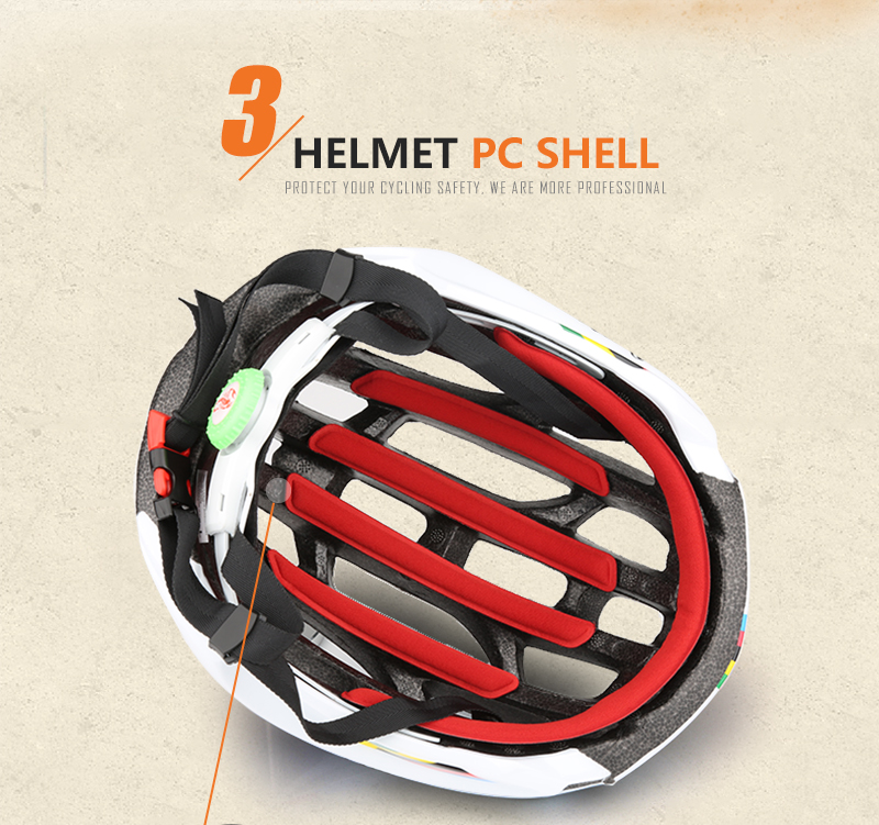 Ultralight helmet Intergrally-molded Women Men Cycling Helmet Bicycle Helmet MTB Bike Outdoor Sports Mountain Road MTB Bicycle Casco Ciclismo Capacete With LED Warning Lights (5)