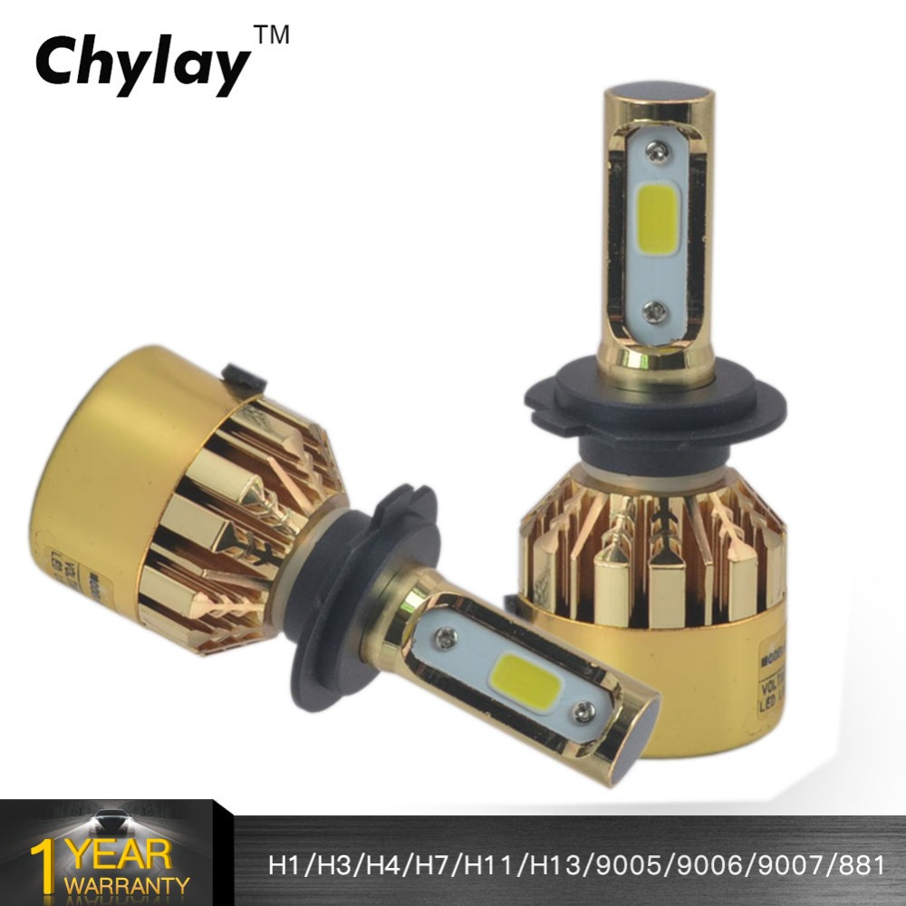 H7 LED Car Light 72W 8000LM 6500K H1 H3 H4 H11 H13 HB3 9005 HB4 9006 9007 881 Bulb Auto Front Fog lamp Bulb Automobile Headlamp h7 led h4 h1 h3 h11 9005 9006 hb4 72w 16000lm car headlights front fog light bulb automobiles headlamp 6000k car lighting
