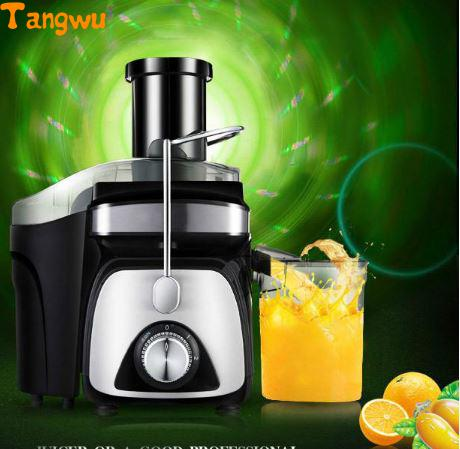 Free shipping Juice extractor household multifunctional electric authentic fruit juice machine Juicers household electric juicer fruit juice maker machine automatic vegetable low speed extractor mixer