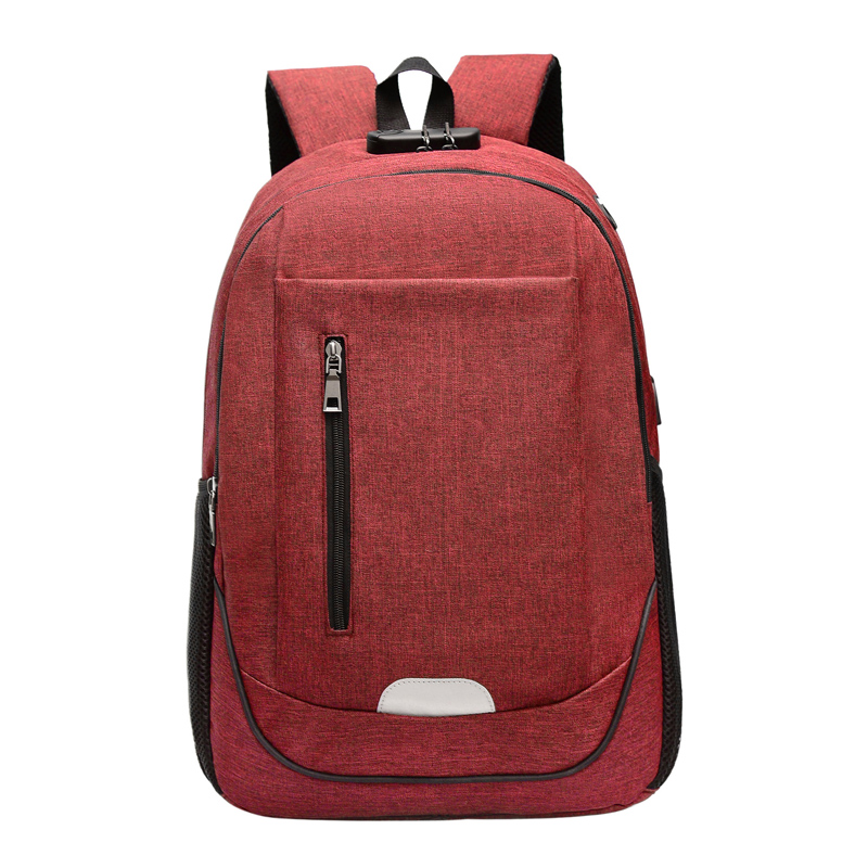 Men Laptop Backpack USB Charging Backpacks For 15 6 inch Computer Anti theft Bags Male Gray Daypack Women Mochila Computer Bag in Backpacks from Luggage Bags