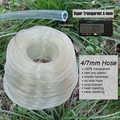 MUCIAKIE 80 メートル」透明 Hose' 透明 4/7 ミリメートルの pvc ホースガーデン灌漑 1/4 ''チューブコールド抵抗耐熱