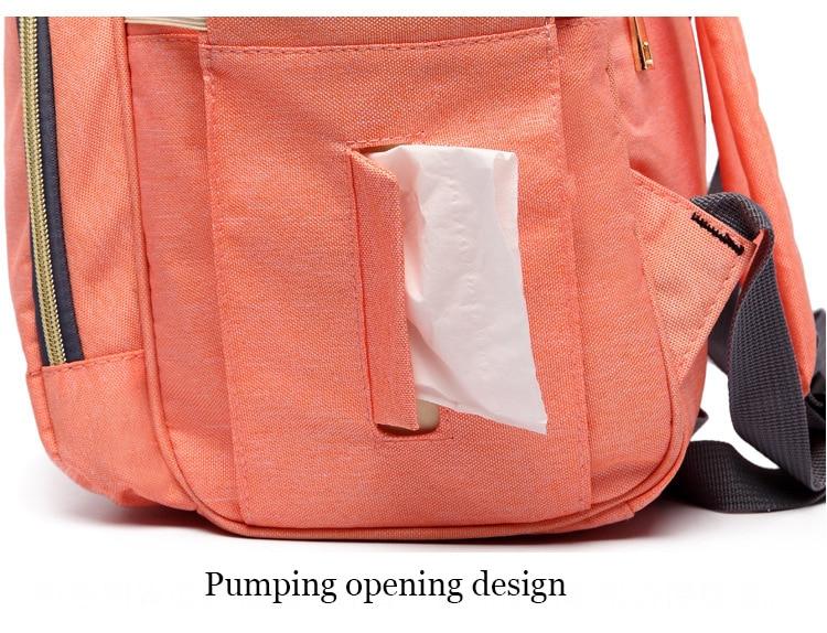 HTB1tmzVd2jM8KJjSZFNq6zQjFXao Maternity Bag Waterproof Diaper Backpack for Mom Nappy Bags Large Capacity Baby Bag Travel Mummy bag Designer Nursing Bag
