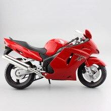 1:12 scale automaxx kids Motorcycle Honda CBR 1100XX CBR1100XX Sport Super Blackbird Diecast motor bike models race toy Vehicles for children collection