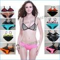 2016 New Triangle Swimwear Women Sexy Neoprene Bikinis Set Swimsuit Biquini