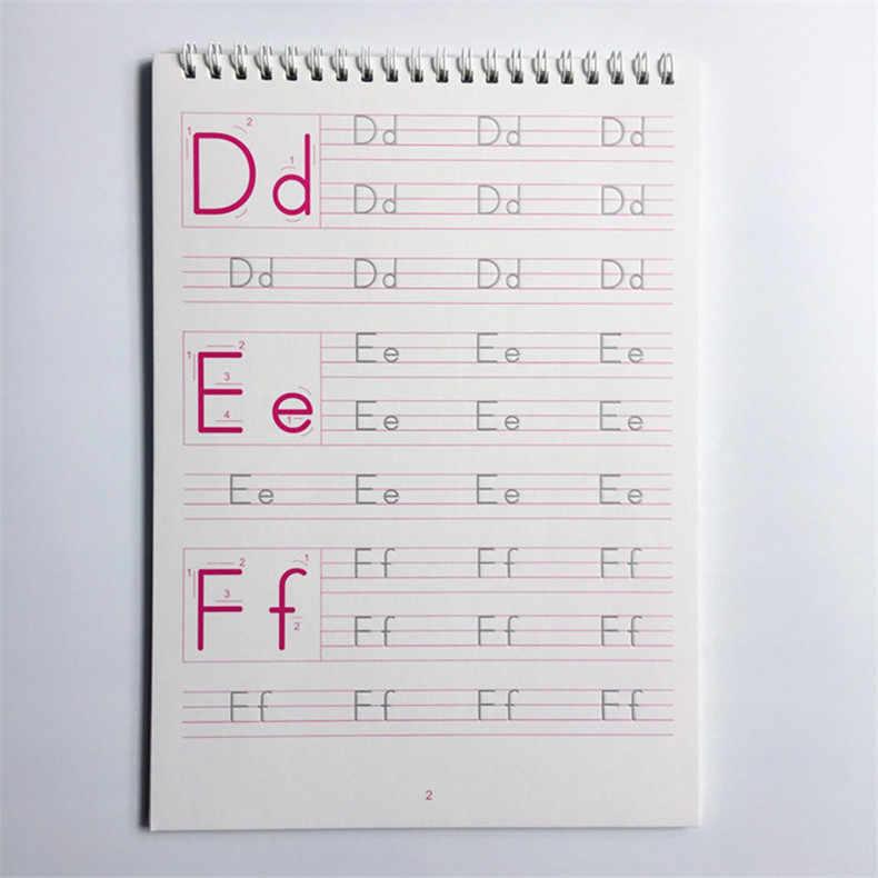 1 шт. Английский алфавит паз копирайтер 26 Английских Букв характер упражнения детский сад дошкольного возраста, чтобы написать текст