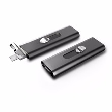 4GB 8GB 16GB Metal Digital Voice Recorder Activated USB Pen drive voice recorder with two Slots for PC for Android Smartphone(China)