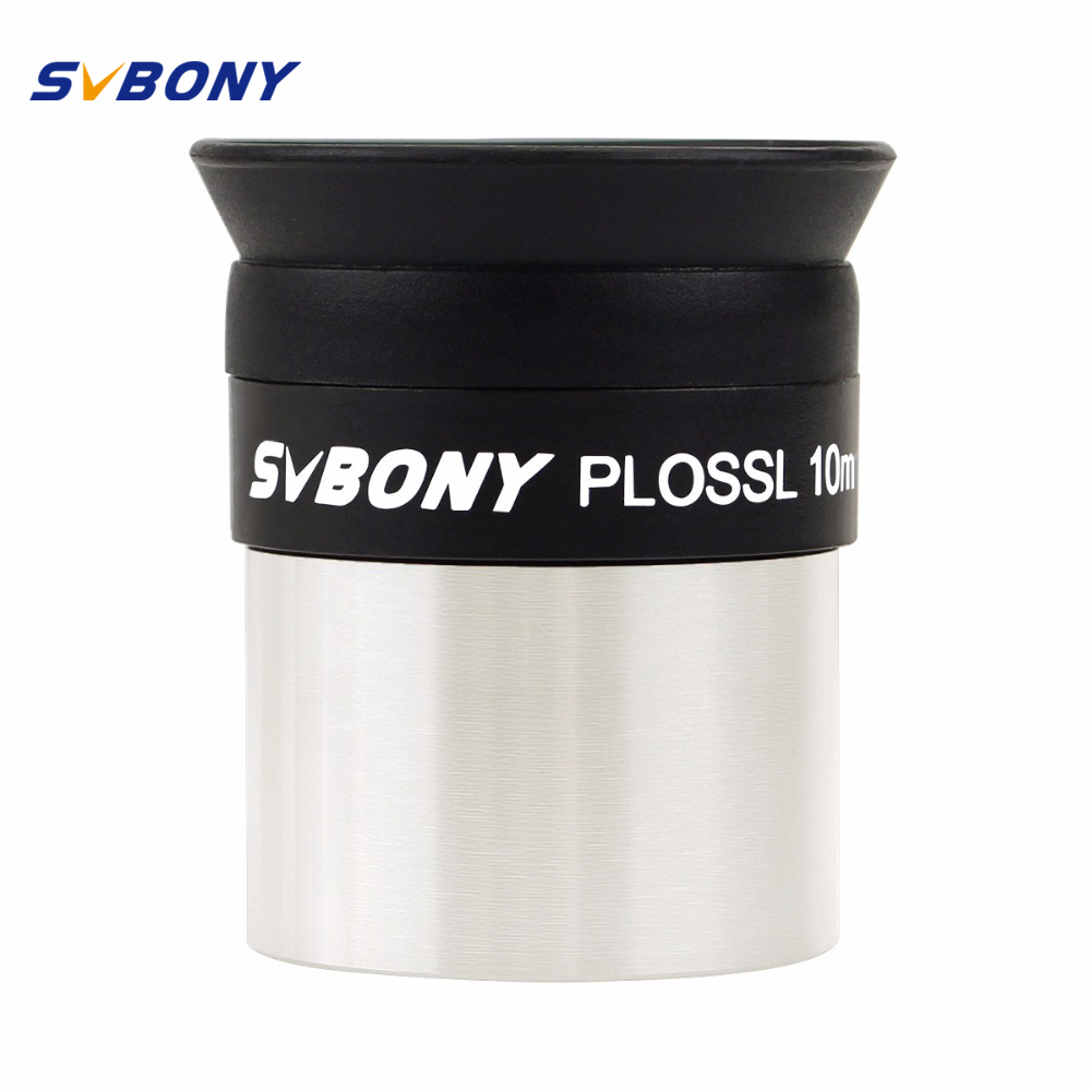 SVBONY 1.25  Eyepiece Lens PLOSSL 10mm HD Full Coated for Telescope Monocular Binocular Eyepiece Wholesale F9107 mini pocket monocular telescope binocular