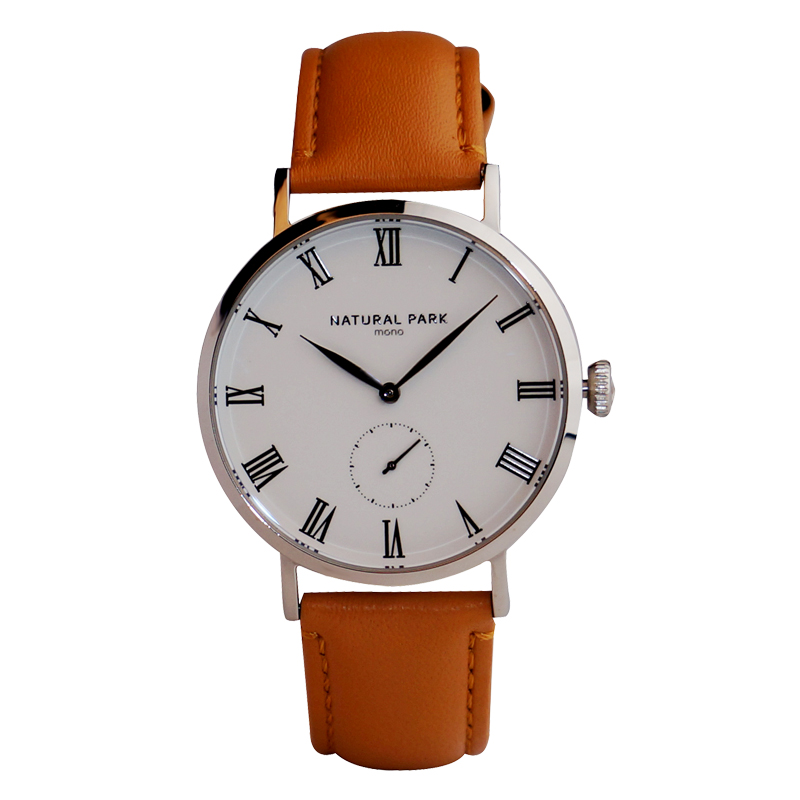 Simple Business Watch Quartz mens watches top brand luxury Casual Wristwatch NATURAL PARK relogio masculino Leather Strap 3ATM baosaili fashion casual mens watches top brand luxury leather business quartz watch men wristwatch relogio masculino bs1038