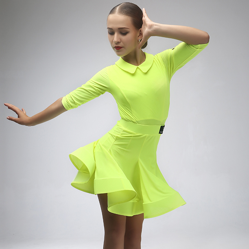 Show details for Latin Dress For Girls Dancing Dress Girls Dance Costumes For Kids Latin Dress Modern Dance Costumes Kids Rumba Costumes Samba