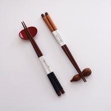1Pair Non-Slip Chopsticks Portable Wooden Travel Japanese Hashi Sushi Chinese Chop Sticks Tableware Dinner